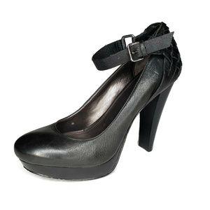Calvin Klein Camden Platform Heels Ankle Strap 7.5